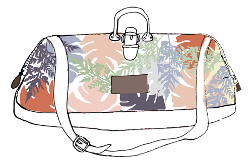 Travel bag illustration icon by Yaansoon