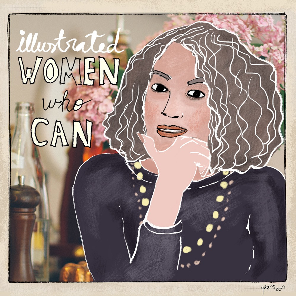 Women Empowerment Blog Series: Illustrated Women Who Can | by Yaansoon Illustration | Women Portraits and Stories, Woman Illustration