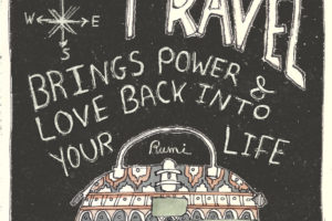 Hand-Lettering Quote – Illustrated Words by Rumi