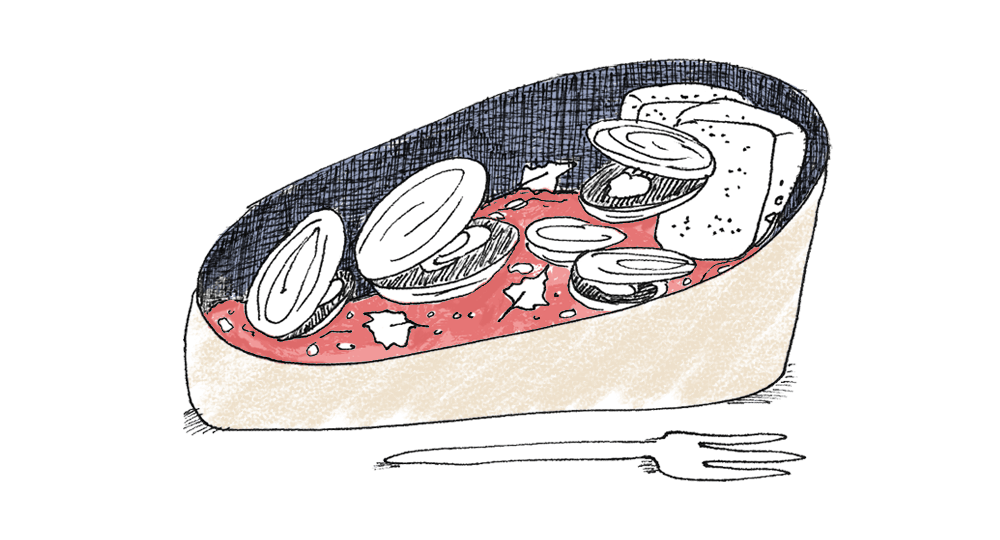 Illustrated Italian Recipes: Scrumptious Food Illustrations from Italy | Yaansoon Illustration + Art | Italian Seafood, Mussles, Vongole, Italian Food Illustration, Illustrated Recipes, Travel Illustration, Mediterranean Food Illustration, Italian Culture Illustration, Editorial Illustration, Italian Cuisine, Pen and Ink Illustration